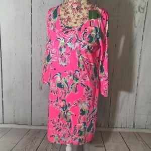 NWT Lilly Pulitzer DragonFruit Toucan Beacon Dress